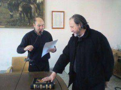 Juan Alberto Bardín juró esta tarde como concejal