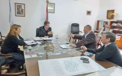 Cettour se reunió con la Federación Médica
