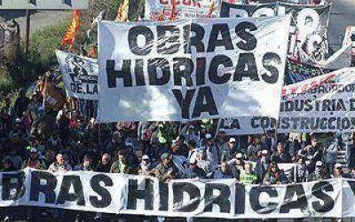 El Foro Hídrico marchará a Plaza de Mayo para reclamar obras