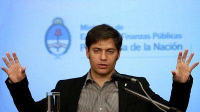 Kicillof estudia negociar un auxilio financiero con Brasil si se acentúa la caída de las reservas