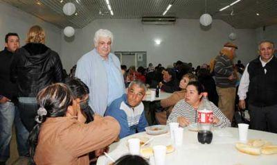 Alberto Samid dio el primer paso para instalar un mercado central en Chivilcoy