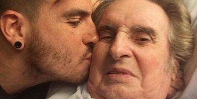 La emotiva foto de Fede Bal junto a su papá: