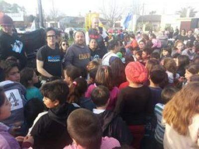 La Campora y Proyecto Nacional Dolores culminaron con festejos el mes del niño