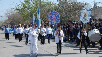 Barrio Alberdi celebró a lo grande su aniversario
