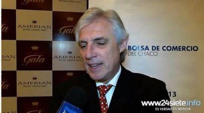 Manuel Garc�a Sol�: �Soy el candidato que mejor suceder� a Capitanich�