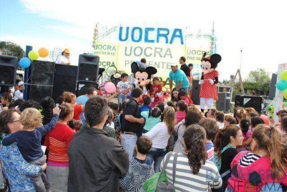 Multitudinaria Fiesta del Niño de la UOCRA
