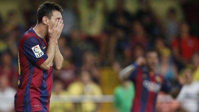 Messi terminó tocado y no viaja a Alemania