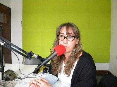 Maria Marta Delucía, Concejal (FPV): Estoy convencida que el candidato a intendente debe ser Jorge Lenzi. Confirmó la llegada de Martín Sabatella a Saladillo.