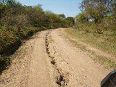 Quejas por la inacción de Vialidad Provincial en el Este