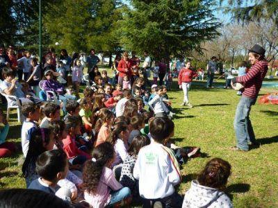 Jornada recreativa en Mechita organizado por Desarrollo de la Nación