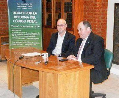 Llega el debate de la reforma del C�digo Penal