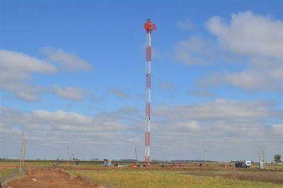 Ya se instaló la antena de la TDA en el Parque Industrial de nuestra ciudad