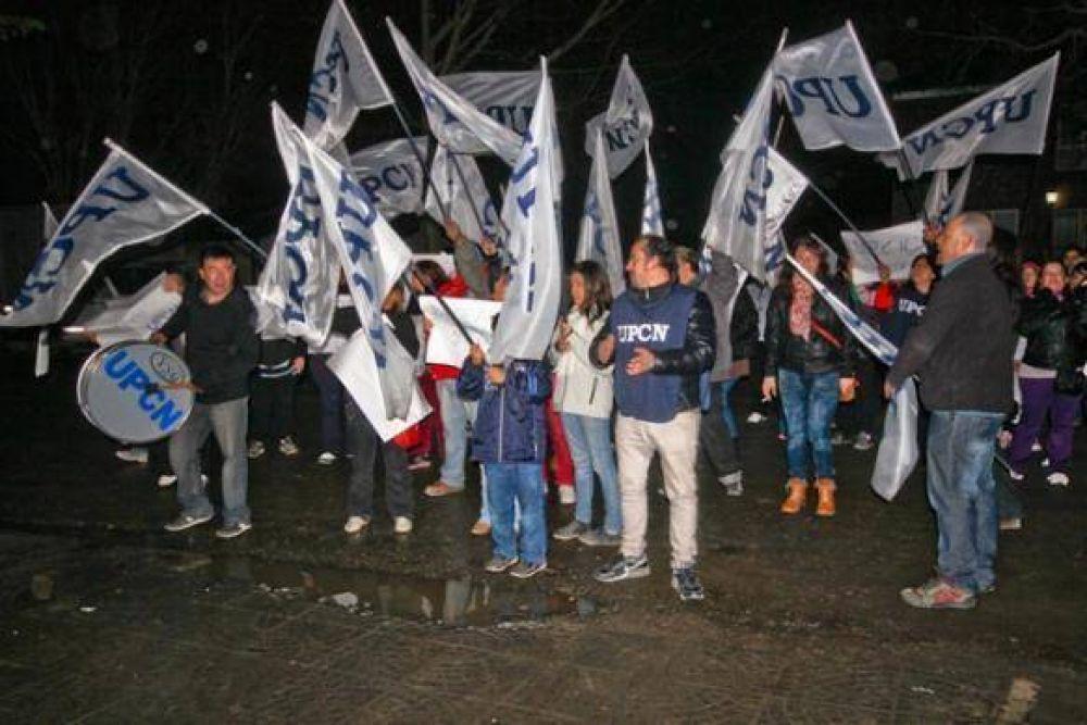 UPCN protestó frente a Casa de Gobierno