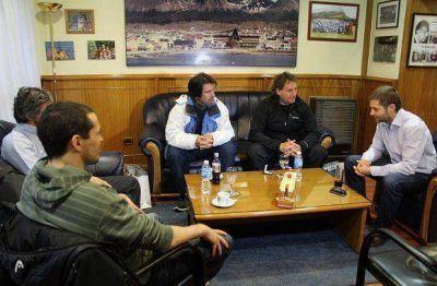 Sciurano recibió la visita de ex Pumas