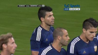 La Selecci�n de Martino tuvo un auspicioso debut ante Alemania