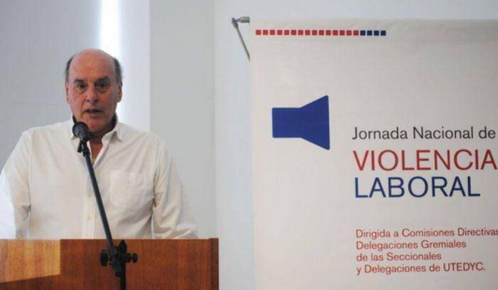 Bonjour encabeza Jornadas Nacionales de Violencia Laboral en Utedyc