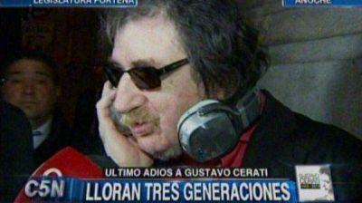 Charly Garc�a reconoci� a Gustavo Cerati como