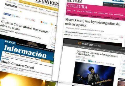 Los medios del mundo se hacen eco del fallecimiento de uno de los íconos del rock