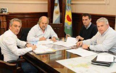 Policías comunales: San Martín y Olavarría firmaron su adhesión con Granados