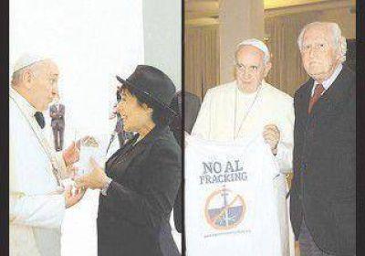 """El papa Francisco y una """"bendición"""" a Vaca Muerta"""