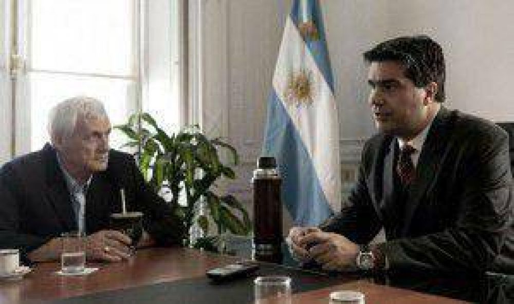 Caló y Capitanich trataron en Casa Rosada el conflicto de metalúrgicos