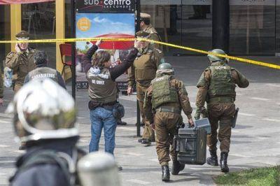 Ocho heridos en Santiago de Chile por un atentado en el subte