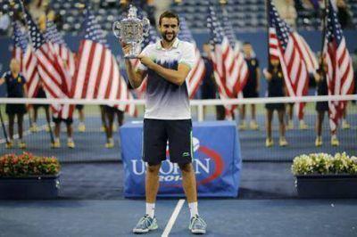Marin Cilic superó a Kei Nishikori y ganó el US Open, su primer título de Grand Slam