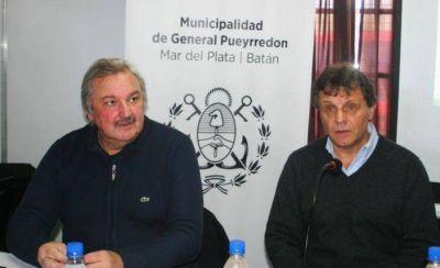 """Pulti y Dell Olio anunciaron """"la obra ambiental más importante de la historia de Mar del Plata"""""""