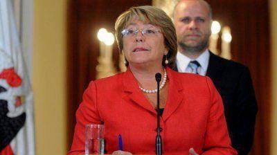Bachelet dijo que aplicará la ley antiterrorista, aunque admitió que es deficiente
