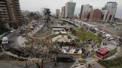 Aclaran que no hay argentinos entre los heridos en el atentado en Chile