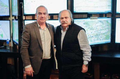 Seguridad: Echeverría se reunió con Granados