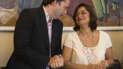 La Gobernadora se reunió con Mera por las conclusiones de los foros Catamarca del Futuro