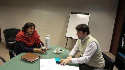La Senadora Inés Blas se reunió con Norberto Berner