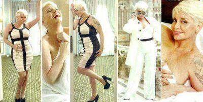 El destape de Carmen Barbieri, nuevo cuerpo y desnuda en una revista