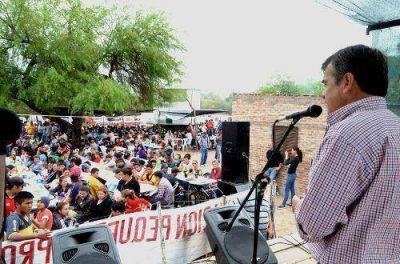 El Municipio de Castelli agasajó a los agricultores en conmemoración del Día del Agricultor