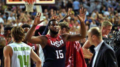 EEUU vapuleó a Eslovenia y es semifinalista del Mundial