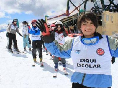 Aclaran que el programa de Esquí Escolar no se suspendió