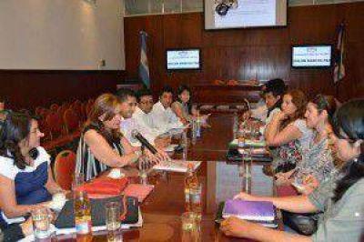 Parlamento Juvenil: la comisión de Cultura y Educación se reunió con docentes de escuelas del interior de la provincia