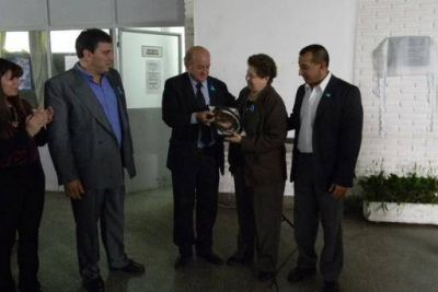 Salud homenajeo al Dr. Carlos Bravo por su trabajo incansable contra el Chagas en la provincia