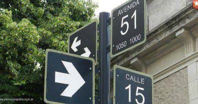 Sumarán numeración a las calles de la ciudad