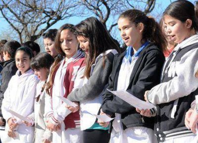 Se realizó el acto por el Día del Maestro a 126 años de la muerte de Sarmiento