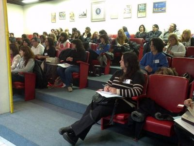 Roque Pérez presente en capacitación por los derechos del niño