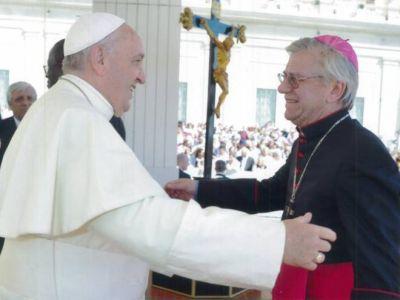 El obispo Chaparro visitó al Papa