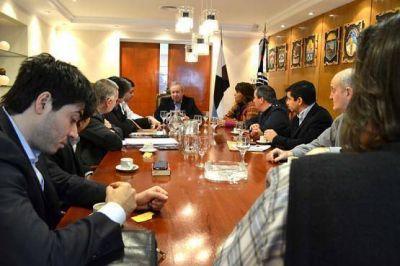 Diputados justicialistas analizaron el presupuesto con el gabinete de provincia