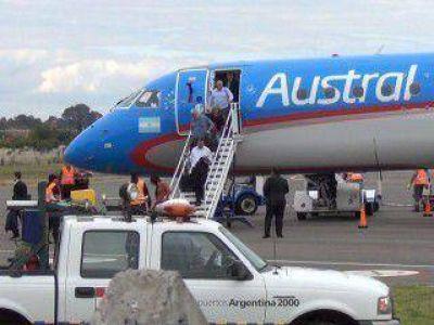 Poggi formalizó el pedido de traspaso del Aeropuerto a la Provincia y reclamó más vuelos