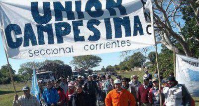 Acto banderazo y marcha contra la extranjerización de las tierras