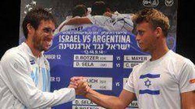 Mayer abre hoy la serie por la permanencia ante Israel