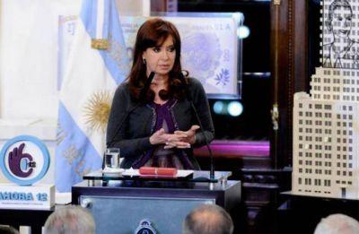"""Cristina: """"Argentina quiere pagar, puede pagar y va a pagar a los tenedores de bonos"""