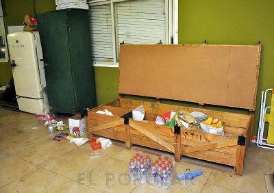 Rompieron una ventana y robaron en instalaciones del Club Estudiantes