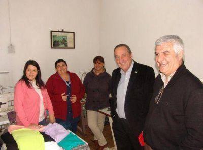 Lunghi visitó las nuevas instalaciones de la Cooperativa Textil Gardey